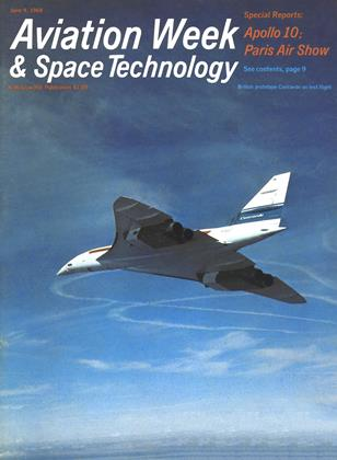 Cover for the June 9 1969 issue