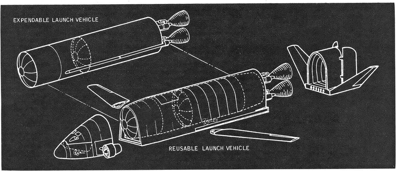 Reusable Space Ferry Considered, Page: 61 - June 16, 1969 | Aviation Week