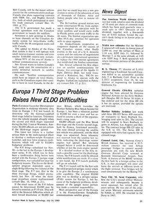 News Digest, Page: 23 - July 14, 1969 | Aviation Week