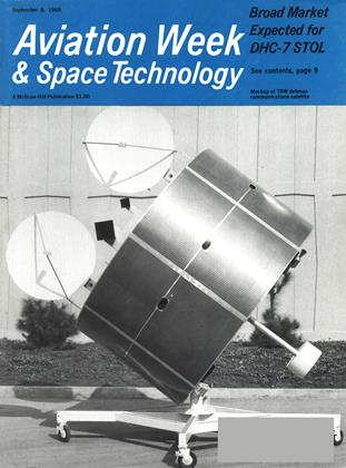 Cover for the September 8 1969 issue
