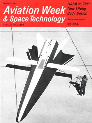 Cover for the September 29 1969 issue