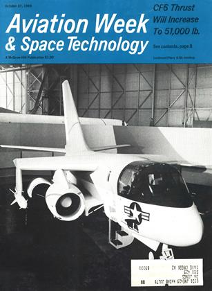 Cover for the October 27 1969 issue
