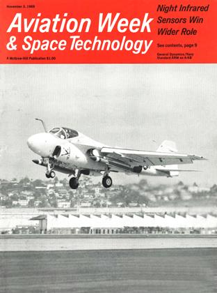 Cover for the November 3 1969 issue
