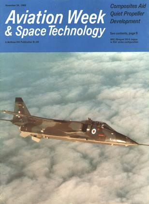 Cover for the November 24 1969 issue