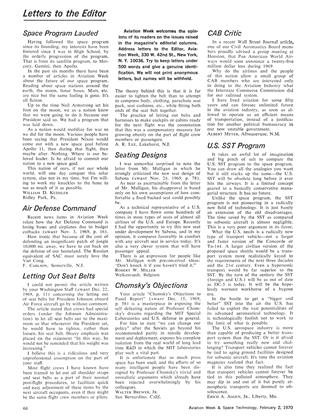 Letters to the Editor, Page: 66 - February 2, 1970   Aviation Week