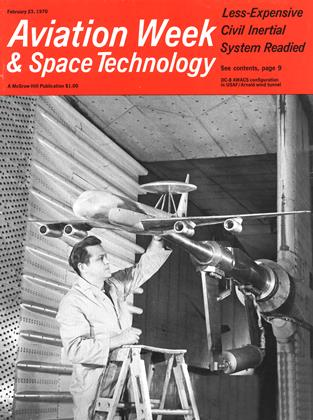 Cover for the February 23 1970 issue