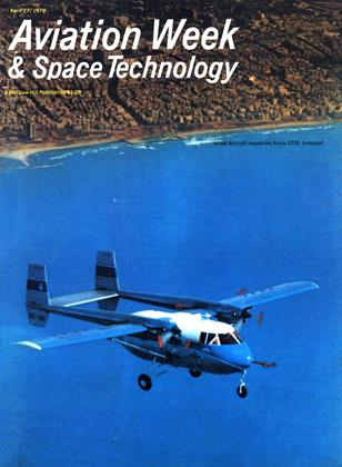 Cover for the April 27 1970 issue