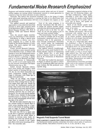 Fundamental Noise Research Emphasized, Page: 90 - June 22, 1970   Aviation Week