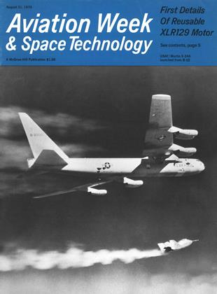 Cover for the August 31 1970 issue