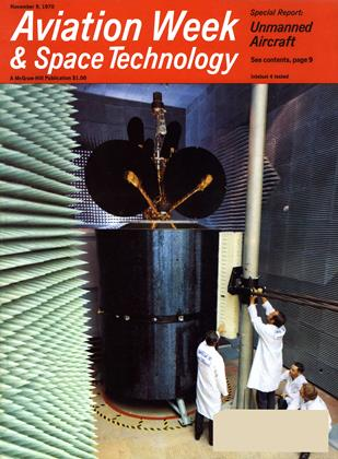 Cover for the November 9 1970 issue