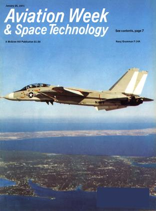 Cover for the January 25 1971 issue