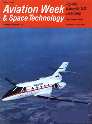 Cover for the February 1 1971 issue