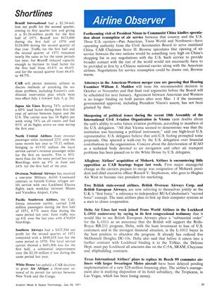 Airline Observer, Page: 29 - July 26, 1971 | Aviation Week