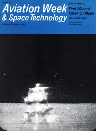 Cover for the August 9 1971 issue