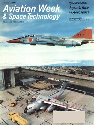 Cover for the November 1 1971 issue