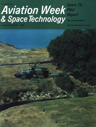 Cover for the November 8 1971 issue