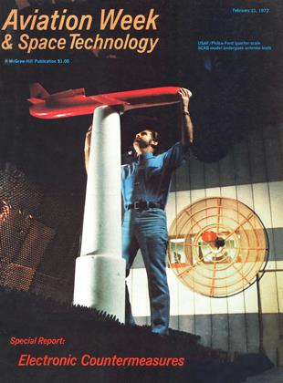 Cover for the February 21 1972 issue