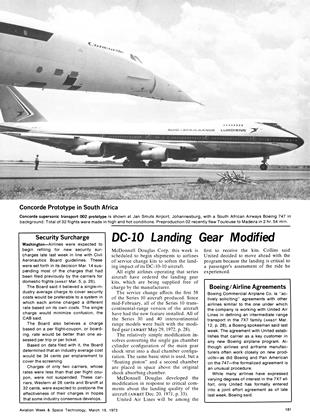 Boeing/airline Agreements, Page: 181 - March 19, 1973 | Aviation Week