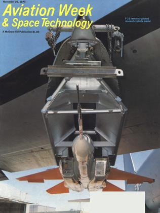 Cover for the November 26 1973 issue