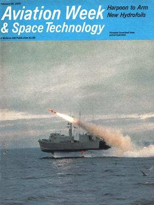 Cover for the February 25 1974 issue