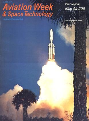 Cover for the April 22 1974 issue