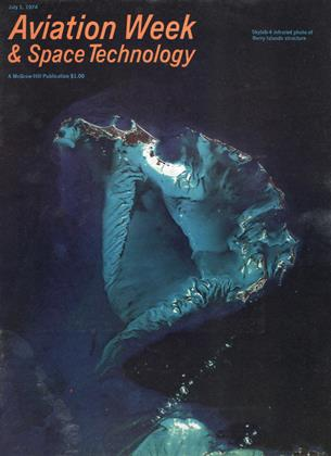 Cover for the July 1 1974 issue