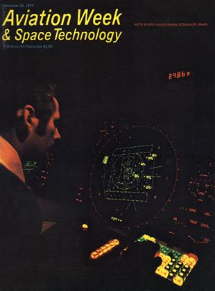 Cover for the November 25 1974 issue