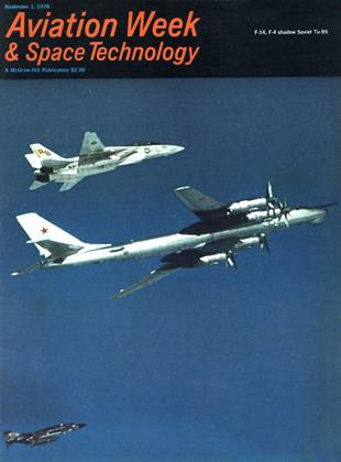 Cover for the November 1 1976 issue