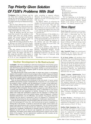 Navstar Development to Be Restructured, Page: 28 - February 28, 1977 | Aviation Week