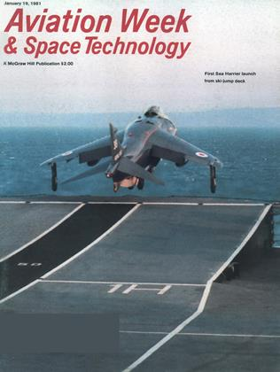 Aviation Week & Space Technology, Page: 1 - January 19, 1981 | Aviation Week