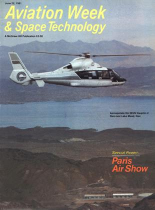 Cover for the June 22 1981 issue