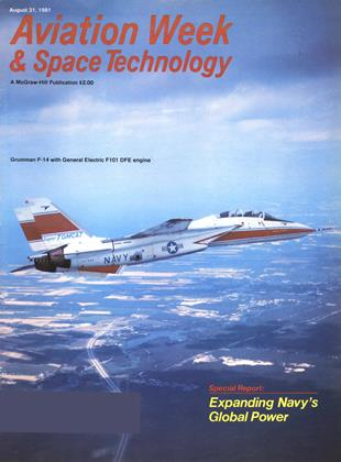 Cover for the August 31 1981 issue