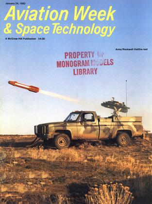 Cover for the January 24 1983 issue