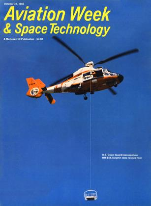 Cover for the October 31 1983 issue