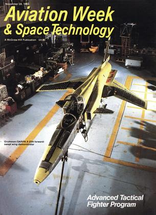 Cover for the November 28 1983 issue