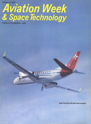 Cover for the February 13 1984 issue