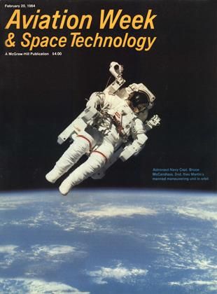 Cover for the February 20 1984 issue