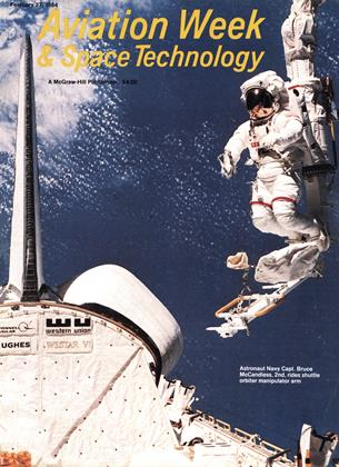 Cover for the February 27 1984 issue