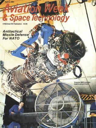 Cover for the April 9 1984 issue