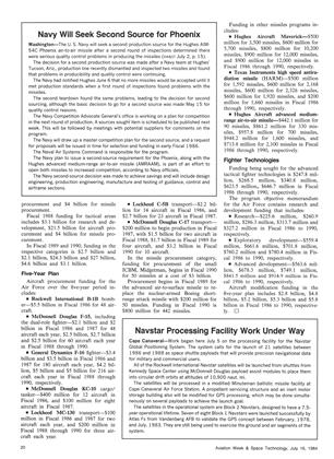 Navstar Processing Facility Work Under Way, Page: 20 - July 16, 1984 | Aviation Week