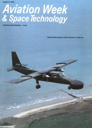 Cover for the August 13 1984 issue