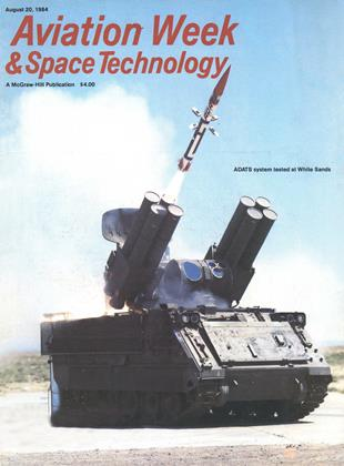 Cover for the August 20 1984 issue