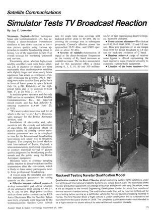 Rockwell Testing Navstar Qualification Model, Page: 73 - September 24, 1984 | Aviation Week