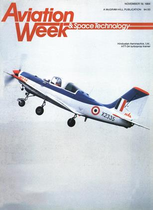 Cover for the November 19 1984 issue