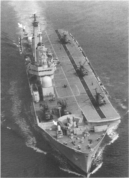 Phalanx System Operational on British Aircraft Carriers, Page: 127 - February 25, 1985 | Aviation Week
