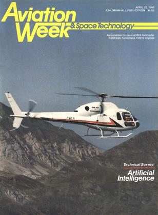 Cover for the April 22 1985 issue