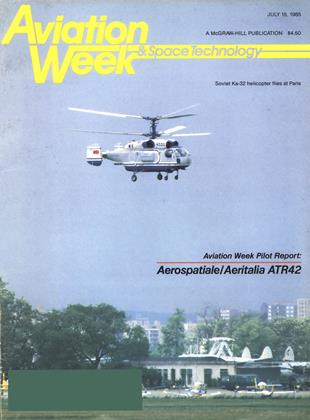 Cover for the July 15 1985 issue
