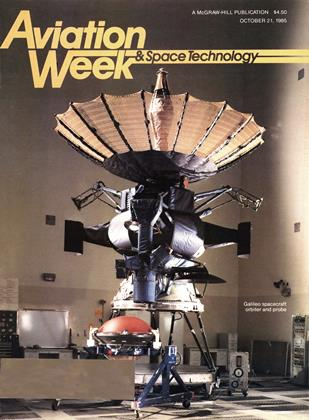 Cover for the October 21 1985 issue