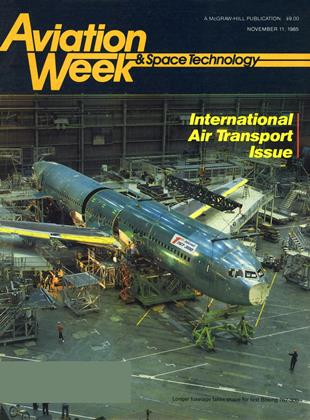 Cover for the November 11 1985 issue