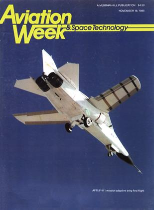Cover for the November 18 1985 issue